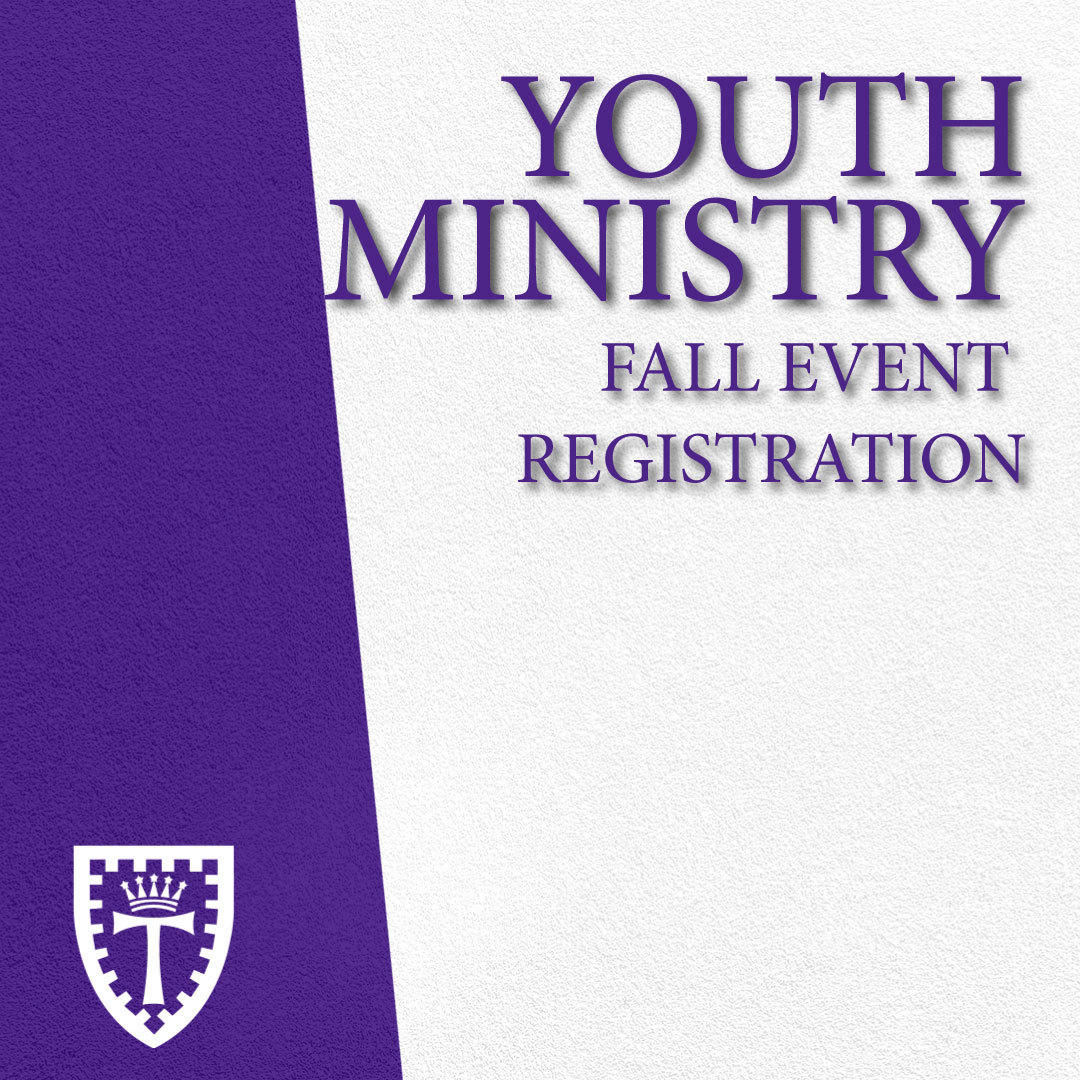 Youth Fall Events & Registration 2